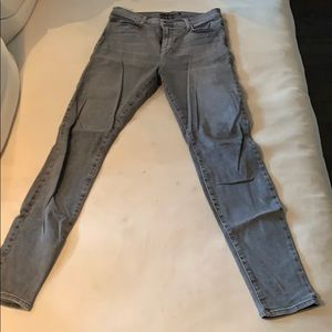 J Brand - Skinny fit , high rise jeans